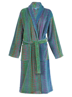 Elaiva Green Ocean Magic Collar Bath Robe
