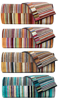 Missoni Jazz Towels & Robes, 4 Colors
