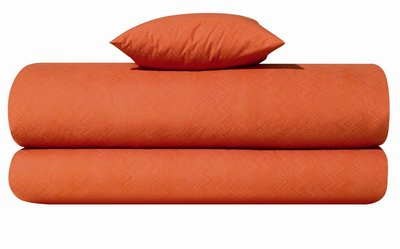 Missoni Jo Orange Color 59 Zig Zag Print Sheets and Duvet Covers