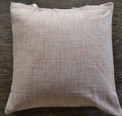 SDH Lino Chili Red Throw Pillow