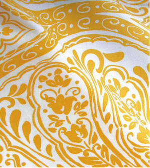 saffron-golden-yellow-white-dasmask-print-bedding-duvet-covers-sheets.jpg